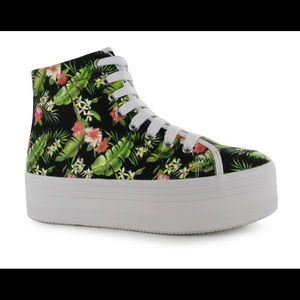 Jeffrey Campbell Shoes - JC Play by Jeffrey Campbell Aloha High Top Sneaker